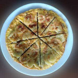 omlet-z-bananem-platkami-owsianymi