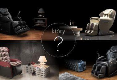 Używane fotele masujące