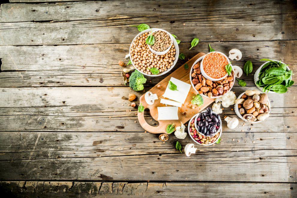 5 produktów wegetariańskich bogatych w białko