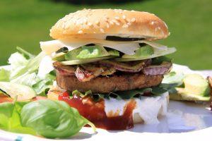 Odchudzony hamburger, czyli burgery z mięsa indyczego