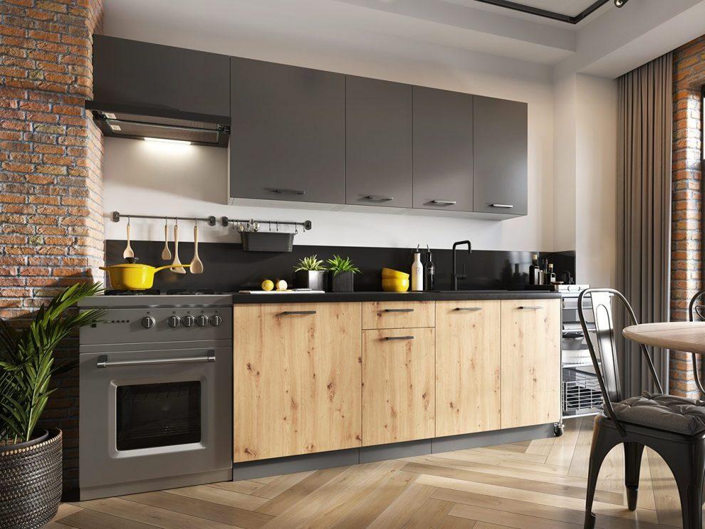 Meble kuchenne do małej kuchni. Prezentujemy praktyczne rozwiązania.